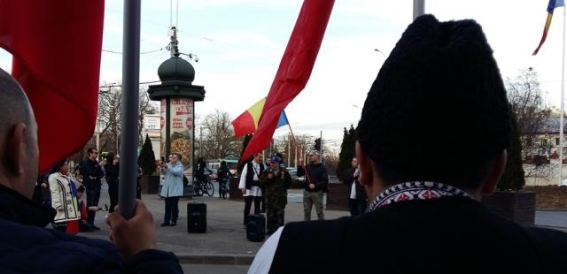 Miting la București 2