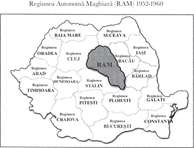regiunea autonoma maghiara 1952_1960