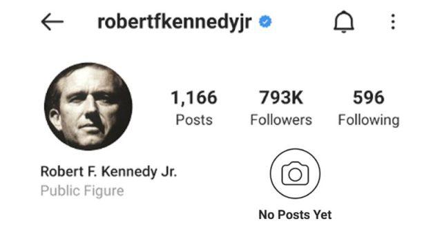 RFK instagram
